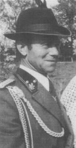 Franz Haske  Gründungsmitglied und der erste Brudermeister der Bruderschaft