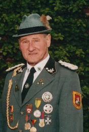 Heino Thoben  Gründungsmitglied und seitdem Schatzmeister der Bruderschaft